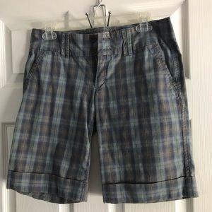 Abercrombie & Fitch Plaid Shorts Size 4